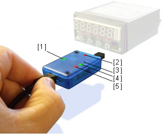 digital panel meter usb connection isolator