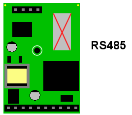 Digital panel meter RS485 Data Port